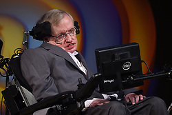 File photo dated 02/07/17 of the late Professor Stephen Hawking. A memorial service Mr HawkingÊwill be held at Westminster Abbey during which his ashes will be buried alongside other great scientists like Darwin and Newton.