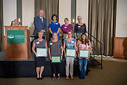 25 Years of Service award winners at at the Annual Classified Staff  Service Award Ceremony.  Photo by Ben Siegel