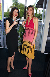 Left to right, GEMMA MASON and MIMA LOPES at the 28th Game Conservancy Trust Ball in Battersea Park, London SW11 on 18th May 2006.<br />