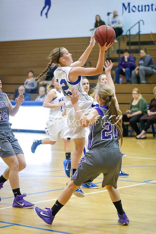 December 10, 2014.  <br /> MCHS Varsity Girls Basketball vs Strasburg.