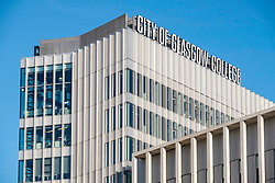 View of exterior of new City of Glasgow College in central Glasgow , Scotland, United Kingdom
