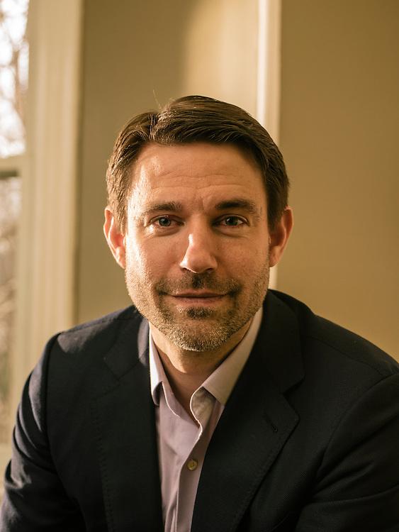 WASHINGTON, DC - FEB 3 Noah Bopp, Founder and Head of The School for Ethics and Global Leadership in DuPont Circle, Washington, DC. (Photo by Greg Kahn/GRAIN for The Washington Post)