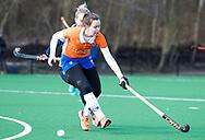 BLOEMENDAAL - Pien Tol (Bldaal)  hoofdklasse competitie dames, Bloemendaal-Nijmegen (1-1) COPYRIGHT KOEN SUYK