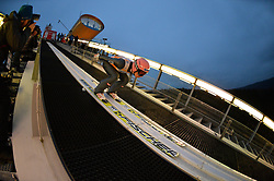 21.11.2014, Vogtland Arena, Klingenthal, GER, FIS Weltcup Ski Sprung, Klingenthal, Herren, HS 140, Qualifikation, im Bild Stefan Kraft (AUT) // during the mens HS 140 qualification of FIS Ski jumping World Cup at the Vogtland Arena in Klingenthal, Germany on 2014/11/21. EXPA Pictures © 2014, PhotoCredit: EXPA/ Eibner-Pressefoto/ Harzer<br /> <br /> *****ATTENTION - OUT of GER*****
