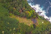 Joyce Kanoa home, North Shore, Molokai, Hawaii
