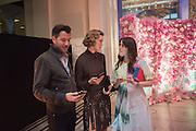 BONIFACE VERNEY-CARRON; ARIZONA MUSE; TANIA FARES, V & A Summer party. South Kensington. London. 22 June 2016