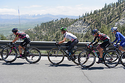 Kristabel Doebel-Hickok  at Amgen Breakaway from Heart Disease Women's Race empowered with SRAM (Tour of California) - Stage 2. A 108km road race in South Lake Tahoe, USA on 12th May 2017.