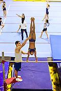 Belo Horizonte_MG, Brasil...Centro de Treinamento de Ginastica Olimpica do Minas Tenis Clube em Belo Horizonte, Minas Gerais..Gymnastics Training Center at Minas Tenis Clube in Belo Horizonte, Minas Gerais..Foto: BRUNO MAGALHAES / NITRO