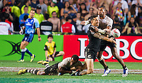 HONG KONG - APRIL 10:  Sonny Bill Williams of New Zealand competes during Cup Final the 2016 Hong Kong Sevens match between Fiji and New Zealand at Hong Kong Stadium on April 10, 2016 in Hong Kong.  (Photo by Juan Manuel Serrano Arce/Getty Images)