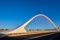 France, Region Centre-Val de Loire, Loiret (45), Orléans, pont de l'Europe // France, Loiret, Orleans, Europe bridge