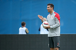 06.09.2014, Trainingsground, Zagreb, CRO, FS Vorbereitung, Trainingslager, Kroatisches Nationalteam, im Bild Dejan Lovren // during a training session of the national footballteam of Croatia in preparation for the upcoming EURO 2016 qualifying match against Malta on 09. Spetember 2014 in Zagreb, at the Trainingsground in Zagreb, Croatia on 2014/09/06. EXPA Pictures © 2014, PhotoCredit: EXPA/ Pixsell/ Sanjin Strukic<br /> <br /> *****ATTENTION - for AUT, SLO, SUI, SWE, ITA, FRA only*****