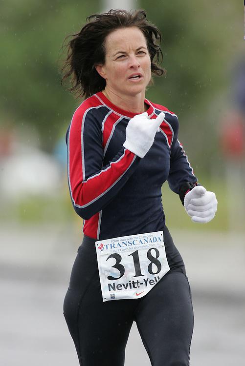(13/10/2007--Ottawa) TransCanada 10K Canadian Championship run by Athletics Canada. The athlete in action is SUSAN NEVITT-YELLE