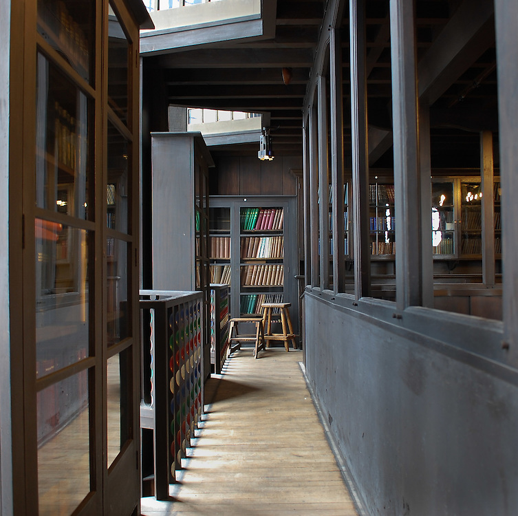 Mackintosh, Art Nuveau, Glasgow School of Art, Library