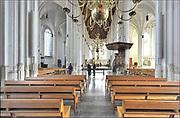 Nederland, Nijmegen, 5-2-2017 De St Stevenskerk, interieur. De kerk is gebouwd in verschillende periodes en met verschillende stijlen. Romaans en gothisch .Foto: Flip Franssen