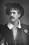 George Alexander (1858-1918) English actor-manager. Spent some years in Henry Irving's company. Presented Oscar Wilde's 'Lady Windermere's Fan' (1892) and Pinero's 'The Second Mrs Tanqueray'. Considered avant-garde. Photograph published c1890. Woodburytype