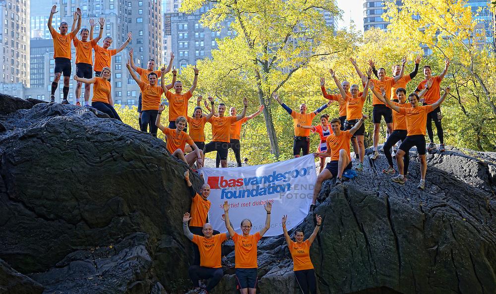 02-11-2013 ALGEMEEN: BVDGF NY MARATHON: NEW YORK <br /> We zijn er klaar voor. NY marathon 2013 in het Central Park.<br /> ©2013-WWW.FOTOHOOGENDOORN.NL