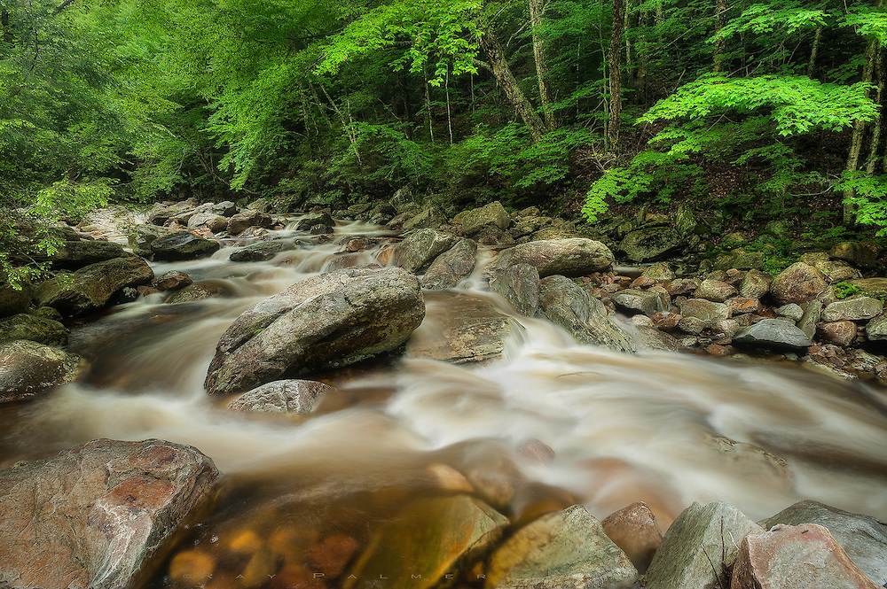 Big Branch River, Vermont.  The river makes a deep cut in the mountain, steep hillsides lead upward on either side.  Its hard to imagine what kind of cataclysmic flood caused these boulders to be lifted and carried down stream, leaving a trail of destruction. I rock hop until I'm standing above the hiss of whitewater under my feet, and do a balancing act to take in the drama up and down the waterway.  Drama, I think to myself...I've created too much, gotten too much.  Nature's storms take it out on landscapes while human storms take it out on our souls. In the end, all the words, the rage, the hurt, and sadness fades, and the truth is that what we knew hasn't changed, but we did.  So why am I drawn here instead of some idyllic meadow full of flowers, when I have enough turmoil of my own?  Places like this have their own drama, where timeless forces are locked against one another. There are no motives, no illusion, no judgement... it is as real as it says.  I'll stay awhile longer, and toss a stone in the river.