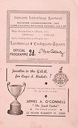 Munster Minor and Senior Hurling Championship Final,.25.07.1937, 07.25.1937, 25th July 1937,.25071937MSMHCF,...James A Connell, 52 Oliver Plunkett St Cork,