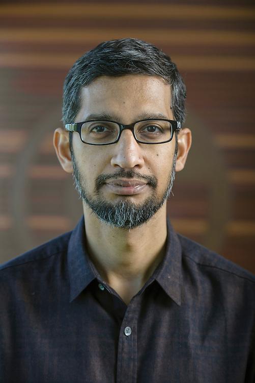 Google CEO Sundar Pichai. Mountain View, CA   The Telegraph  (UK)