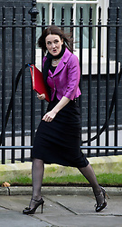 © London News Pictures. 18/12/2012. London, UK.     Secretary of State for Northern Ireland heres a Villiers  MP arriving on Downing Street, in London for cabinet meeting on December 18, 2012 Photo credit: Ben Cawthra/LNP.