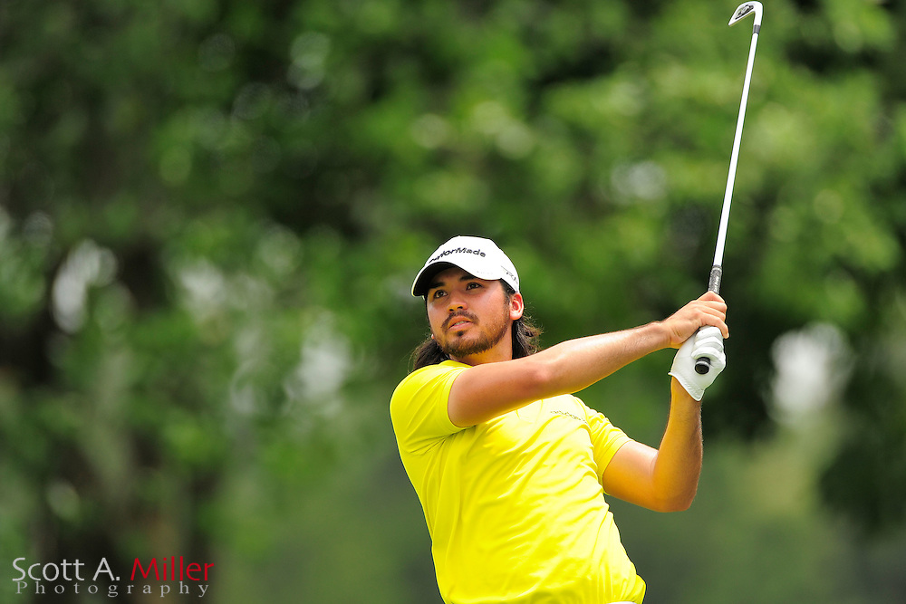 Jason Day during the final round of the AT&T National at Congressional Country Club on July 1, 2012 in Bethesda, Maryland. ..©2012 Scott A. Miller
