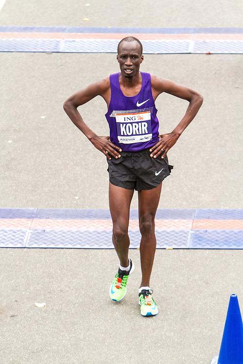 ING New York CIty Marathon: Wesley Korir