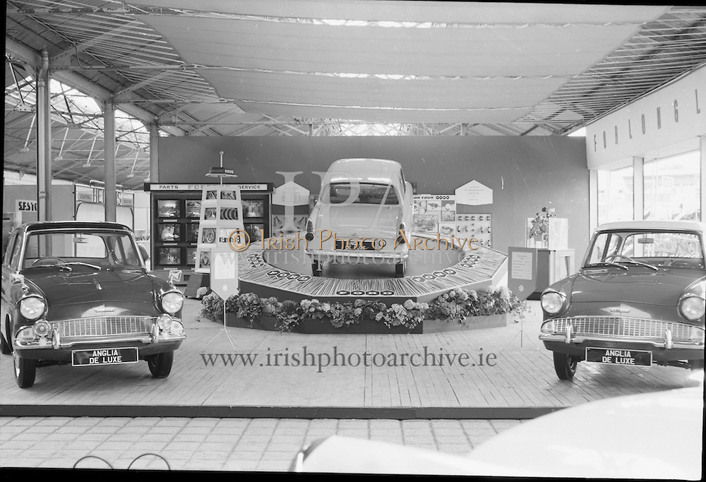 Henry Ford's car stand at the RDS.<br /> 02.05.1961