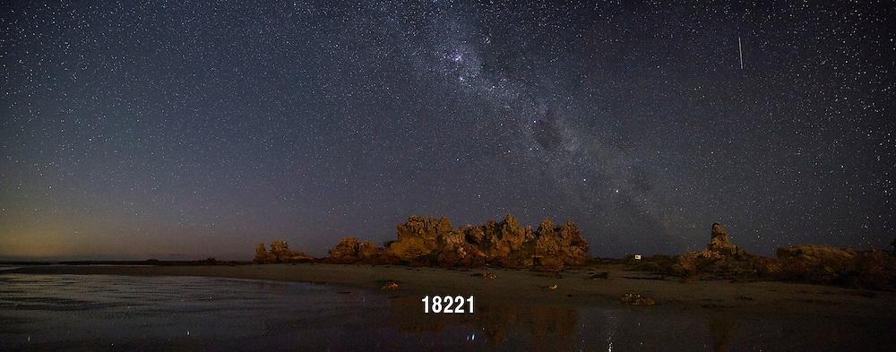 Milky Way; Point Roadknight; stars; starlight; space; moon; dawn