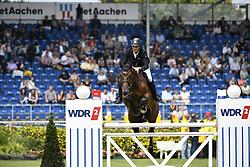 THIEME Andre (GER), Cellisto<br /> Aachen - CHIO 2019<br /> Preis des Handwerks<br /> Springprüfung (Fehler/Zeit) <br /> 17. Juli 2019<br /> © www.sportfotos-lafrentz.de/Karl-Heinz Frieler