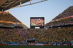 Brasil x Croácia, na abertura da Copa do Mundo 2014, no Estádio Arena Corinthians, em São Paulo. FOTO: Jefferson Bernardes/ Agência Preview