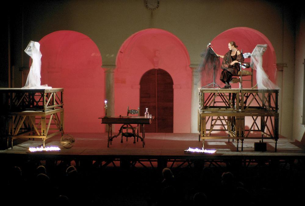 Sabbioneta (MN) - La città ideale di Vespasiano Gonzaga -  Palazzo Ducale - Stagione teatrale