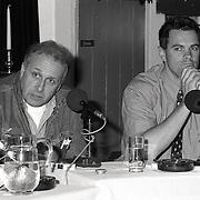 NLD/Huizen/19920518 - Mediashow van Ton Lankreijer in de Boerderij Huizen, Mart Smeets en Otto van der Parre
