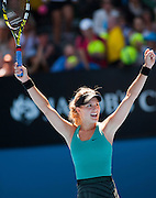 Tennis 2014 - Australian Open -Bouchard v Ivanovic