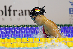 21.08.2014, Europa Sportpark, Berlin, GER, LEN, Schwimm EM 2014, im Bild <br /> Vanessa Grimberg (Deutschland) (DSV) // during the LEN 2014 European Swimming Championships at the Europa Sportpark in Berlin, Germany on 2014/08/21. EXPA Pictures © 2014, PhotoCredit: EXPA/ Eibner-Pressefoto/ Lau<br /> <br /> *****ATTENTION - OUT of GER*****
