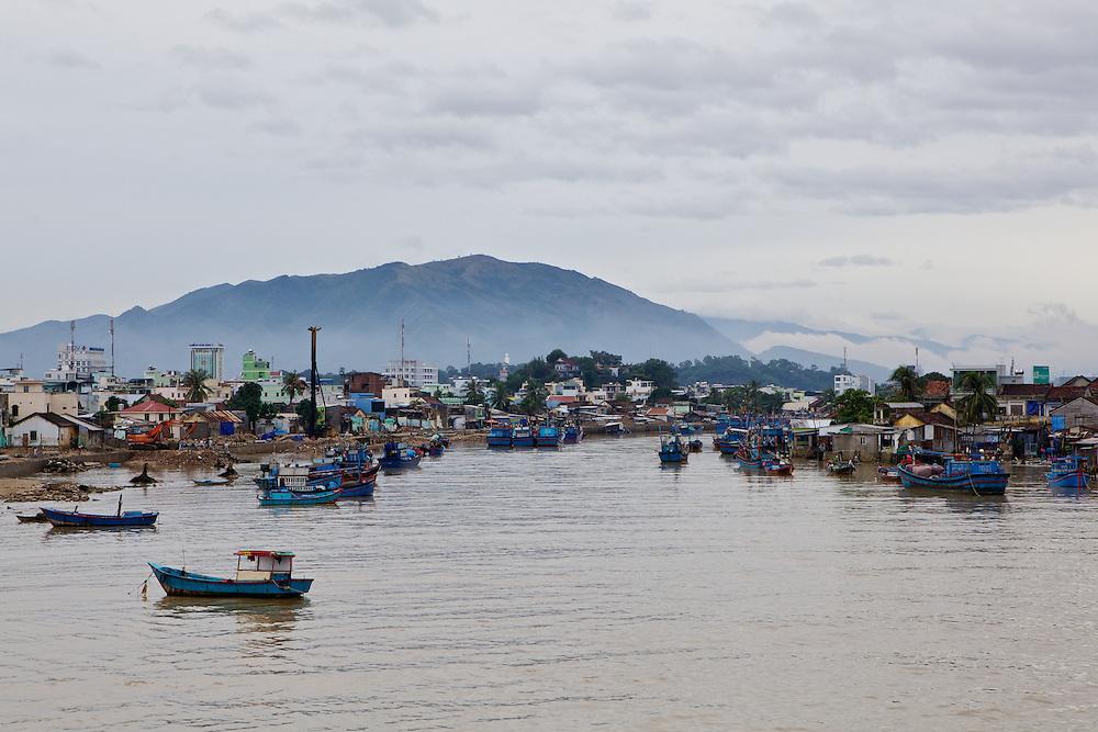 Fishing village, Nah Trang
