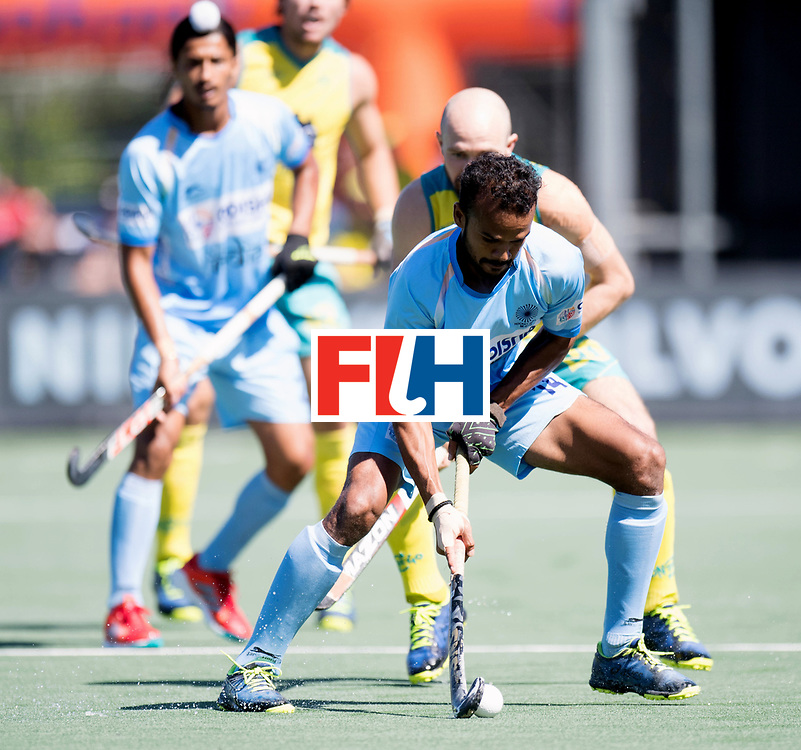 BREDA - Rabobank Hockey Champions Trophy<br /> Final Australia - India<br /> Photo: UPADHYAY Lalit.<br /> COPYRIGHT WORLDSPORTPICS FRANK UIJLENBROEK