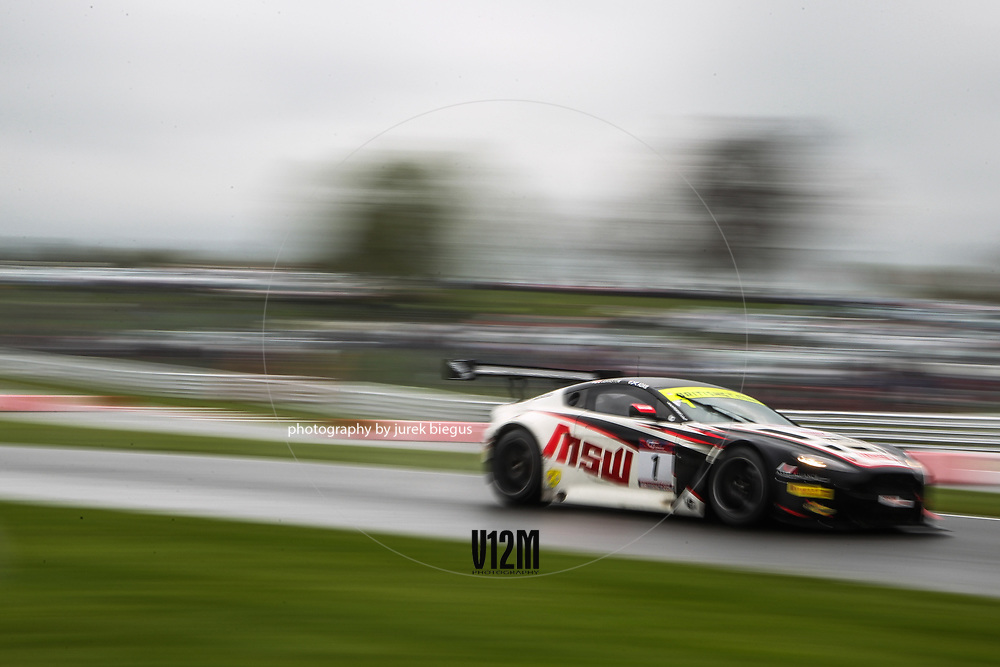TF Sport | Aston Martin Vantage GT3 | Derek Johnston | Jonny Adam | British GT Championship | Oulton Park | 17 April 2017 | Photo: Jurek Biegus