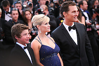 Matthew McConaughey and actress Reese Witherspoon at the Mud gala screening at the 65th Cannes Film Festival France. Saturday 26th May 2012 in Cannes Film Festival, France.