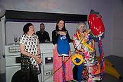 ALICE RAWTHORN; ROKSANDA ILCINC; JULIE VERHOEVEN, Pop party. the birthday celebration of twin sisters Valeria Napoleone and Stefania Pramma. Studio Voltaire, London SW4. 17 May 2013.