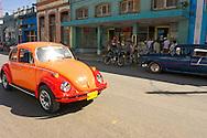 Volkswagen Beetle in Cardenas, Matanzas, Cuba.