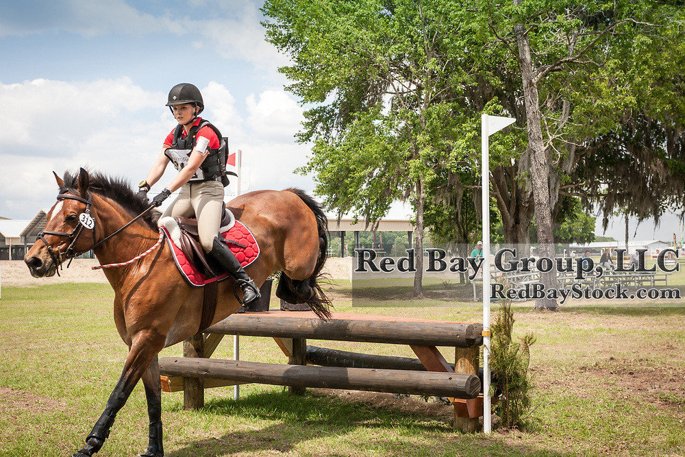 Francesca Weeks and Destert Moon Forte at the Ocala International in Ocala, Florida.