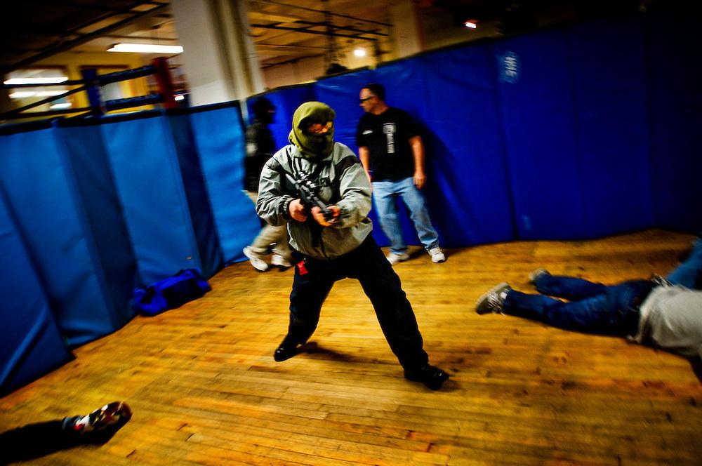Jim Wagner's anti terrorism course in New York City...Photographer: Chris Maluszynski /MOMENT