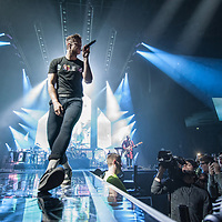 Imagine Dragons in concert at The SSE Hydro, Glasgow, Great Britain 4th March 2018