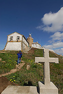 Cape Finisterre. Galicias version of Englands Lands End. Spain stops and the Atlantic Ocean begins. Also known as Costa da Morte or the Death-Coast. For some, this is the real last stop for the Camino de Santiago. , O Semaforo hotel and lighthouse