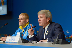 Ukraine Press Conference at the 2014 Sochi Winter Paralympic Games, Russia