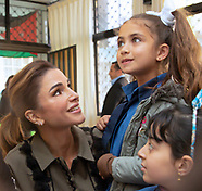 Queen Rania Visits Kindergarten