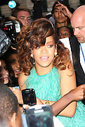 19.AUGUST.2011. LONDON<br /> <br /> MUSIC STAR RIHANNA MEETS FANS AND LAUNCHES HER NEW FRAGRANCE REB'L FLEUR AT THE HOUSE OF FRASER IN LONDON<br /> <br /> BYLINE: EDBIMAGEARCHIVE.COM<br /> <br /> *THIS IMAGE IS STRICTLY FOR UK NEWSPAPERS AND MAGAZINES ONLY*<br /> *FOR WORLD WIDE SALES AND WEB USE PLEASE CONTACT EDBIMAGEARCHIVE - 0208 954 5968*