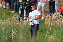 May 19, 2019 - Farmingdale, NY, U.S. - FARMINGDALE, NY - MAY 19:  Justin Rose of England on the 18th hole during the final round of the 2019 PGA Championship at the Bethpage Black course with a score of 8 under par on May 19, 2019 in Farmingdale, New York.(Photo by Rich Graessle/Icon Sportswire) (Credit Image: © Rich Graessle/Icon SMI via ZUMA Press)
