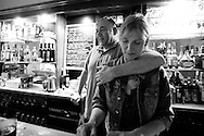 Daily life at The Old Hack Pub in Brussels 19/07/12. Photo: Erik Luntang