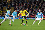 Watford midfielder Abdoulaye Doucoure (16) during the The FA Cup 3rd round match between Watford and Burton Albion at Vicarage Road, Watford, England on 7 January 2017. Photo by Richard Holmes.